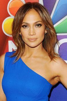 Jennifer Lopez, Shoulder length bob haircuts, long bob haircuts, lob haircuts