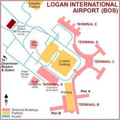 Logan International Airport Map   Helderateliers