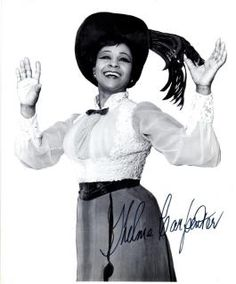 Thelma Carpenter standby to Miss Pearl Bailey Ms.Carpenter played Sunday matinees during Pearl Bailey's run in Dolly and also served as the standby for all others performances. She went on over 100 times during the all black company's run, at one point going on for every performance for four weeks straight!