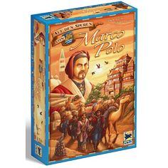 Marco Polo utazásai, kockavetős társasjáték 12 éves kortól - Hans im Glück