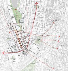 The Goods Line Project: O novo centro urbano de Sydney,Courtesy of ASPECT Studio e Chrofi