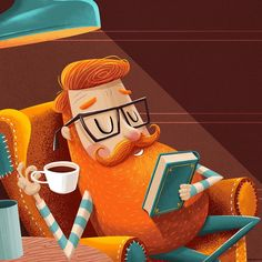 """Mi piace"": 1,371, commenti: 36 - Adrian Macho (@seasidespirit) su Instagram: ""#wip #illustration #beard #bookcover #booklove #characterdesign #workinprogress"""