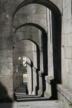 Pontevedra, centro histórico