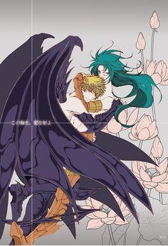 [Boys Love (Yaoi) : R18] Doujinshi - Saint Seiya / Rhadamanthys x Gemini Kanon…