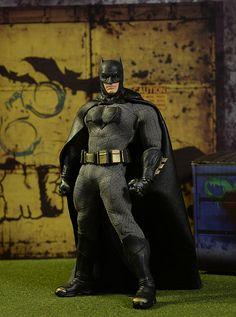 Batman V Superman Batman One:12 action figure by Mezco Toyz