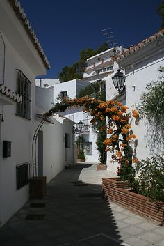Mijas, a beautiful Andalusian village, Spain. http://www.costatropicalevents.com/en/costa-tropical-events/andalusia/welcome.html
