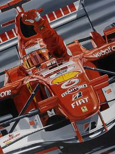 Michael Schumacher su Ferrari