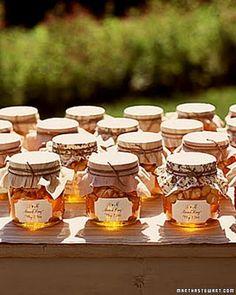 honey favors - to make for bridal/baby shower or wedding favors :)