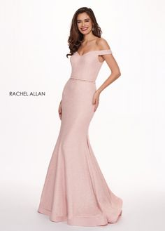 Rachel Allan Prom 6580 Couture House - Prom & Homecoming Dresses, Evening Gowns - The Woodlands, TX Blush Pink Prom Dresses, Modest Dresses, Strapless Dress Formal, Elegant Dresses, Pretty Dresses, Mermaid Skirt, Mermaid Gown, Designer Evening Gowns, Wedding Outfits