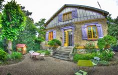 «Chez Claudine et Serge»Hébergements pour weekend et vacances en famille. Familles Bienvenues