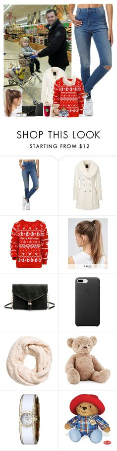 """shopping w/Greg&Theo for Christmas food and presents"" by nblankenship ❤ liked on Polyvore featuring Wrangler, Disney, NIKE, Jellycat, Caravelle by Bulova and Yottoy"