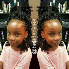 Crochet Braids Hairstyles For Kids, Crochet Braids For Kids, Lil Girl Hairstyles, Natural Hairstyles For Kids, Kids Braided Hairstyles, Princess Hairstyles, Crochet Hair Styles, Natural Hair Styles, Kids Hairstyle