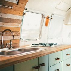 Gorgeous Airstream Renovation Tour Before And After Remodel (38)