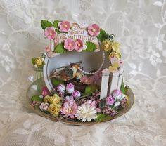 Martica Designs: Altered Tea Cup ….Beautiful!