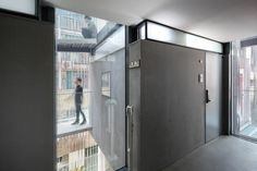 Image 20 of 31 from gallery of Songpa Micro Housing / SsD. Courtesy of SsD Design Awards, Design Trends, Contemporary Architecture, Architecture Design, Tall Cabinet Storage, Locker Storage, Student House, Micro House, Commercial Architecture