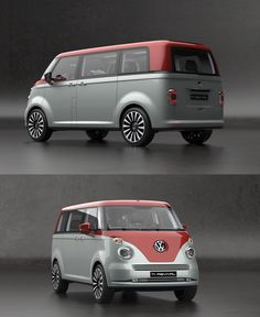 family car Its Hard To Argue With This Volkswagen Revival Concept Kombi Trailer, Vw T1 Camper, Volkswagen Routan, Volkswagen Bus, Volkswagen Models, Campers, Combi Vw T2, K100 Bmw, Vw California Beach