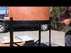 Installing a Forno Bravo Primavera oven (YouTube)