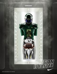 Go Ducks! Green means Go. Here is today's uniform combination courtesy of Nike Football WIN THE DAY.