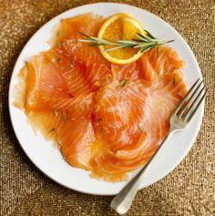 Orange marinated salmon - Appelsiini-rosmariinigraavattu lohi, resepti – Ruoka.fi