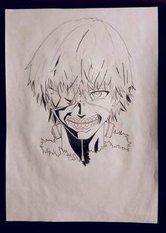 My Drawing - Ken Kaneki | Tokyo Ghoul #anime #manga #fanart #ken