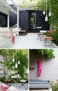 Something lovely and simple about this space... the kind that inspires you to do better in your own garden.