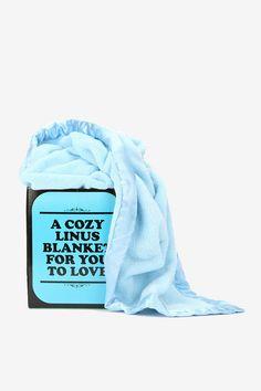 Linus Blanket  #UrbanOutfitters i love charlie brown!!