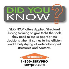 SERVPRO Did You Know?