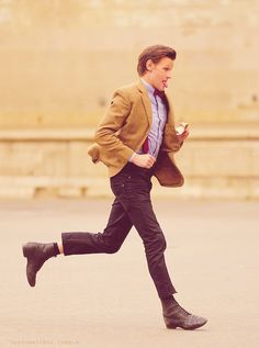 Who ever thought that the Doctor would be wearing skinny jeans?