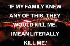 O Egito esteve no centro da primavera árabe e a retomada de poder pelo povo é, claro, necessária. Por outro lado a instabilidade que se instala logo abre espaço para disputas de poder. Ainda não entendi bem porque os gays, lésbicas e outras minorias lgbt são os primeiros alvos dessas disputas...  If My Family Knew Any Of This, They Would Kill Me. I Mean Literally Kill Me.