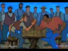 The legend of John Henry as retold by Disney.  I do not own the rights to   this film and no copyright infringement is intended.
