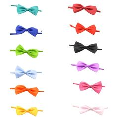 PET SHOW Baby Boys Girls Dog Bow Ties Pet Cat Bowties Collar for Wedding Party Grooming Accessories Color Assorted Pack of 12pcs * Click image to review more details. (This is an affiliate link and I receive a commission for the sales) #MyPet