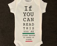 Funny baby bodysuit | Etsy Cute Bodysuits, Funny Babies, Baby Bodysuit, Etsy, Cute Babies, Funny Kids