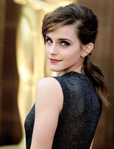 Emma Watson. ❥the eye make up