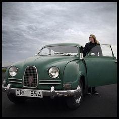 The Girl and the Saab Classic Motors, Classic Cars, Volvo, Saab Automobile, Jaguar Xj, Bmw E30, Old Cars, Concept Cars, Motor Car