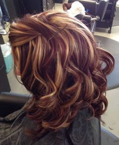 Hair - Cut and Color 69 Trendy Hair Color Autumn Hairdos Replacing your bathroom accessories Article Red Blonde Hair, Ombre Hair, Balayage Hair, Haircolor, Pretty Hair Color, Hair Color And Cut, Medium Hair Styles, Curly Hair Styles, Light Blond