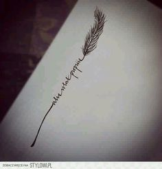 This is what I always wanted. Alis Volat Propriis (She Flies With Her Own Wings)