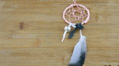 How to Make a Dreamcatcher. Making a dreamcatcher is a fun project you can do by yourself or with friends. You will need a hoop, suede lace, string, and decorative materials to create a basic dreamcatcher. Start the dreamcatcher by. Project Yourself, Fun Projects, Dream Catcher, Gift Ideas, Create, How To Make, Pictures, Gifts, Wrap Around
