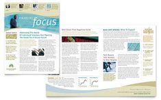 Environmental Conservation Newsletter Design Template By - Free indesign newsletter templates