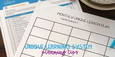 One of the most frequent questions I have been asked is how I use Unique in my classroom and how I plan! I have to admit, I am an . Autism Classroom, Special Education Classroom, Classroom Ideas, Comprehension Activities, Literacy Activities, Unique Learning System, Life Skills Class, Lesson Planning, Word Families