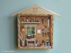 A miniature handyman's workshop