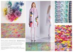 SPINEXPLORE - AW 2017 -2018 Trend fashion knitwear | Biomimicry > Molecular Dimension