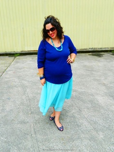 "Outfit Inspiration: ""Baby Blues"" via Sarah Hulbert Style"