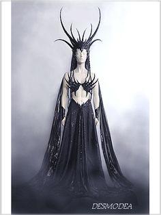 Desmodea<br/>Fantasy-Kopfputz<br/>fantasy headpiece