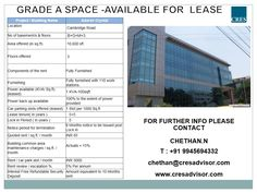 #Officespacelease #Commercialproperty #Cambridgelayout #Bangalore #Furnishedofficespace  Fully furnished Commercial Office Space for lease is 10,600 sq.ft in Cambridge Layout, Bangalore. The commercial office space is well-equipped with all modern facilities. Visit us for more details http://cresadvisor.com
