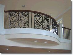 iron spindles for interior stairs | Ornamental iron railings stairs interior decorative railing welding ...
