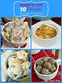 Hubby's Top 10 Fave Recipe from Julie's Eats & Treat ~ Man Approved!