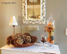 Favorite Fall decor and recipe ideas