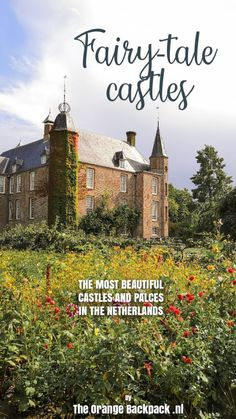 The 12 most beautiful castles and palaces in the Netherlands - The Orange Backpack Medieval Fortress, Medieval Castle, Orange Backpacks, Best Travel Guides, Ancient Buildings, Fairytale Castle, Beautiful Castles, Summer Travel, Travel Inspiration