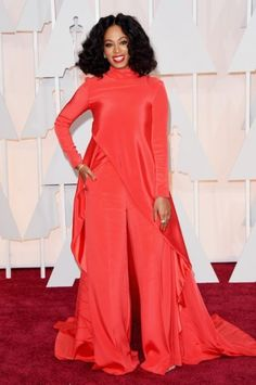 Solange Knowles - Oscars 2015. Click on the image for our entire Oscars coverage including all the dresses.