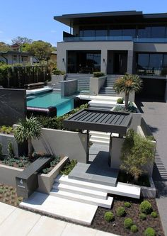 Modern house designs are all over the spectrum in regards t… Contemporary design. Modern house designs are all Dream Home Design, Modern House Design, Modern Interior Design, Interior Architecture, Contemporary Architecture, Computer Architecture, Enterprise Architecture, Contemporary Building, Luxury Homes Dream Houses